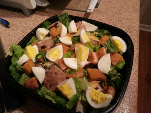 Salad I made all by myself