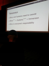 My favorite slide of all the talks I went to.
