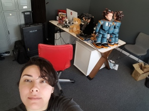 How cool is it that I can say I work withRobots!